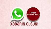 """Bizim yeni WhatsApp xidmətimiz - """"Xəbərin Olsun""""a qoşulun"""