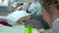 Appeal for baby born with half a heart