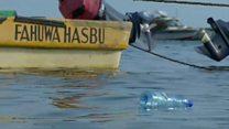 Turning plastic bottle waste into boats