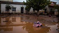 Greece floods: 'The disaster is biblical'