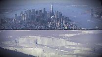 У НАСА розповіли, які міста затопить, коли розтануть льодовики
