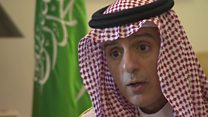 Saudi minister quizzed over blockade
