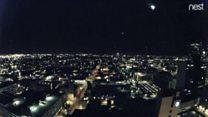 Meteor streaks across Arizona sky