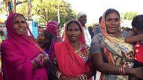 गुजरात की महिलाओं ने गाया लोकगीत