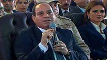 """السيسي يحذر """" لا مساس بحصة مصر في مياه النيل"""""""