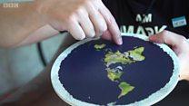 지구는 둥글지 않다고 주장하는 사람들