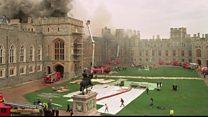 Windsor Castle fire 25 years on