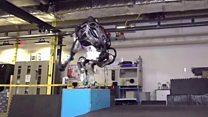 แอตลาส หุ่นยนต์ที่ตีลังกากลับหลังได้