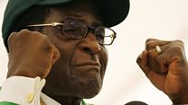 Why is Mugabe being impeached?