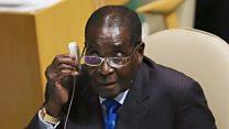 Mugabe resign: Zimbabwe dey jolli.