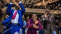 Zimbabwe MPs cheer Mugabe resignation