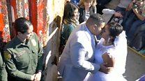 """Врата надежды"": свадьба на границе Мексики и США"