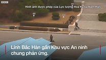 Khoảnh khắc lính Bắc Hàn vượt biên sang Nam Hàn