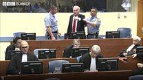 'Olay çıkaran' Ratko Mladiç mahkeme salonundan çıkarıldı