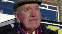 Football fan of 70 years is 'unsung hero'
