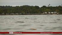 မဲန်နပ်စ်ကျွန်းပေါ်က ခိုလှုံခွင့်တောင်းသူတွေကို ဖယ်ရှား
