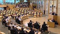 جلسه پارلمان اسکاتلند برای حمایت از نویسندگان و روزنامهنگاران