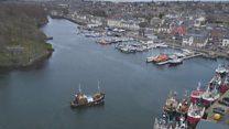 Goireas domhain aig port Steòrnbhaigh