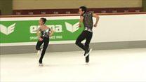 Hopes pinned on North Korean ice skaters