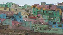 काबुलची घरं रंगवली जात आहेत कारण...