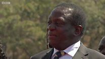 Who be Emmerson Mnangagwa – di crocodile of Zimbabwe - wey replace Robert Mugabe as president?