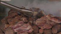 مهرجان الأغذية التقليدية في الخرطوم