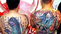 Are Japan's tattoos now taboo?