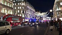 Footage shows people fleeing Oxford Circus