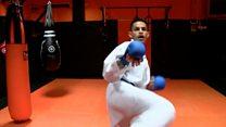 How Karate champion overcame car crash