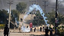 Tear gas fired in Islamabad clashes