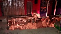 Tenerife nightclub dancefloor collapses
