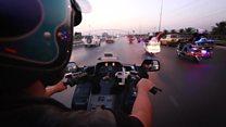 """""""العراق بايكرز""""... عراقيون بدراجاتهم النارية يجولون العراق من دون هوية طائفية"""