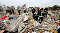 Chinese city rocked by blast