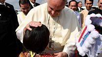 """Berkunjung ke Myanmar, Paus Fransiskus diminta hati-hati gunakan kata """"Rohingya"""""""