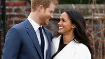 L'histoire d'amour du prince Harry et Meghan Markle en vidéo