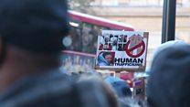 """Londres dit """"non"""" à l'esclavage en Libye"""