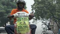 சென்னை: மாற்றுத்திறனாளிகளால் நடத்தப்படும் 'பைக் டாக்ஸி' சேவை (காணொளி)