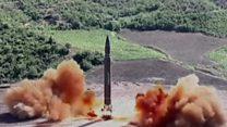 မြောက်ကိုရီးယား ဒုံးကျည်စမ်းသပ် ပစ်လွှတ်ပြန်