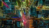 Stunning aerial photos capture US cities