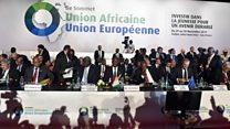 Macron annonce un accord international pour l'évacuation des migrants