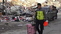 Mass evictions as Beijing is spruced up