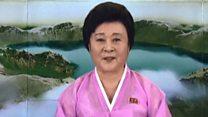"""朝鲜的""""核弹级""""女主播"""