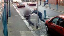 Traffic warden attacked