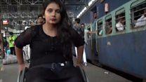 印度轮椅小姐 维拉里·莫迪