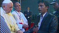 Le Pape auprès des Rohingyas