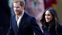 Harry and Meghan's first official outing