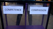 Which matters more to the public - competence or compassion?