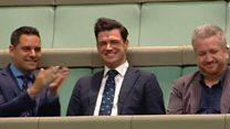 Australian MP proposes in parliament
