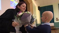 Teacher given star for charity work