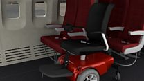 The woman who wants to get wheelchairs on planes